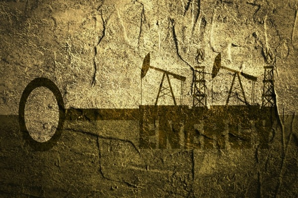 Free well cementing support illustration of oil well equipment on top of a key