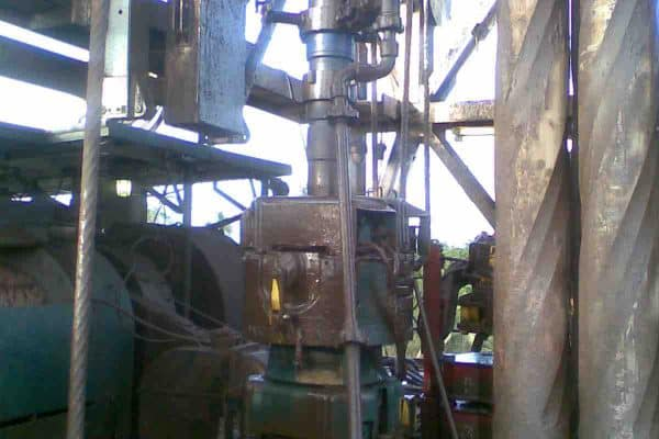 primary cementing checklist illustration of a cementing rigup